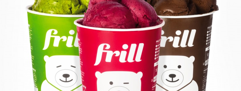 Frill - the frozen smoothie_three flavors